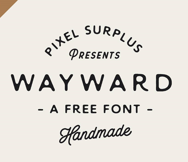Best Free Script Fonts for Logo Design & Logotypes (20 Fonts) - 5
