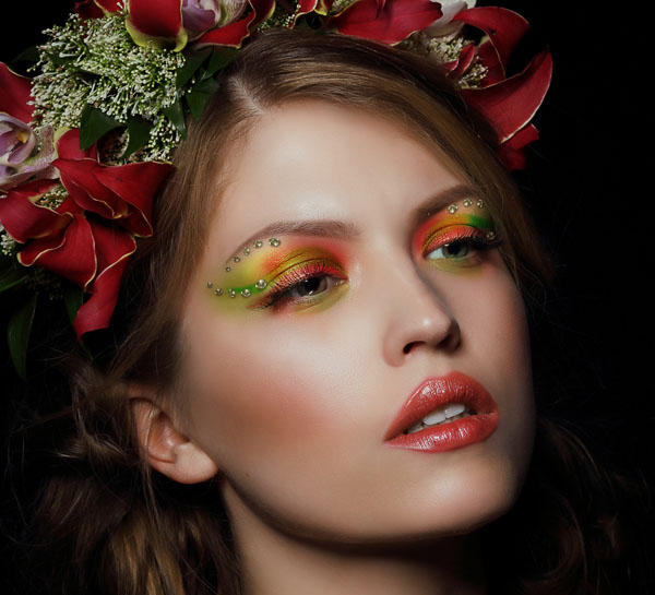 How to Apply Creative Makeup and Retouching with Photoshop