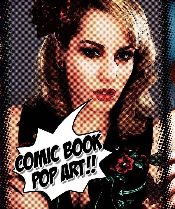 Create a Comic Book, Pop Art Effect in Photoshop Tutorial