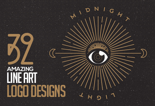 Amazing Line Art Logo Design – 32 Fresh Concepts and Ideas