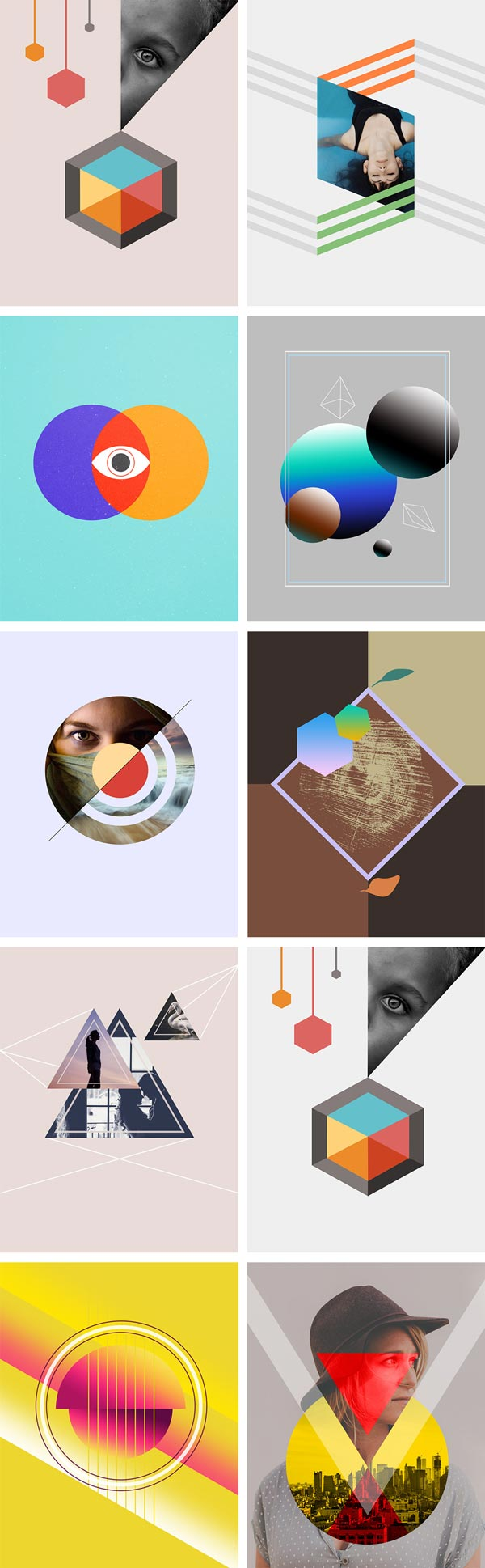 Free Abstract Vector Forms and Shapes