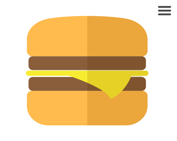 Hamburger Menu Trend