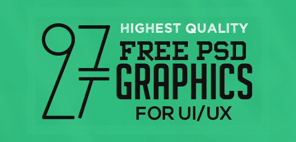 27 New Useful Free Photoshop PSD Files for Amazing UI/UX
