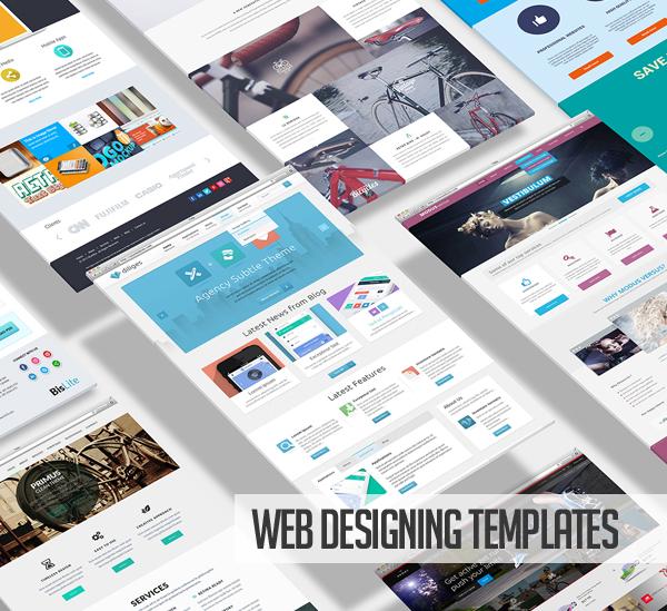 Web designing templates trend