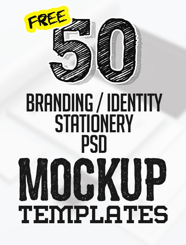 Free Branding / Identity & Stationery PSD Mockups