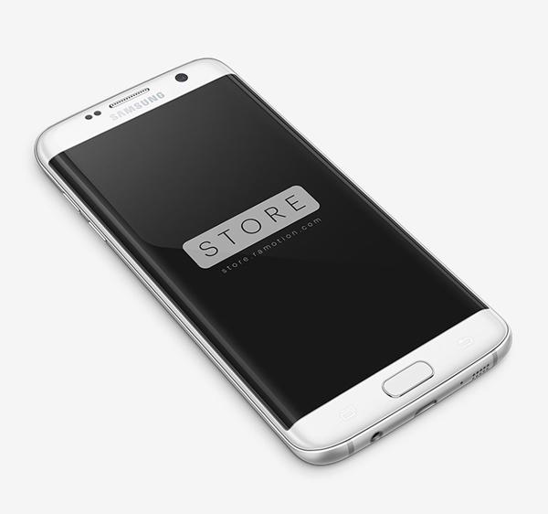 Free Samsung Galaxy S7 Edge Mockups