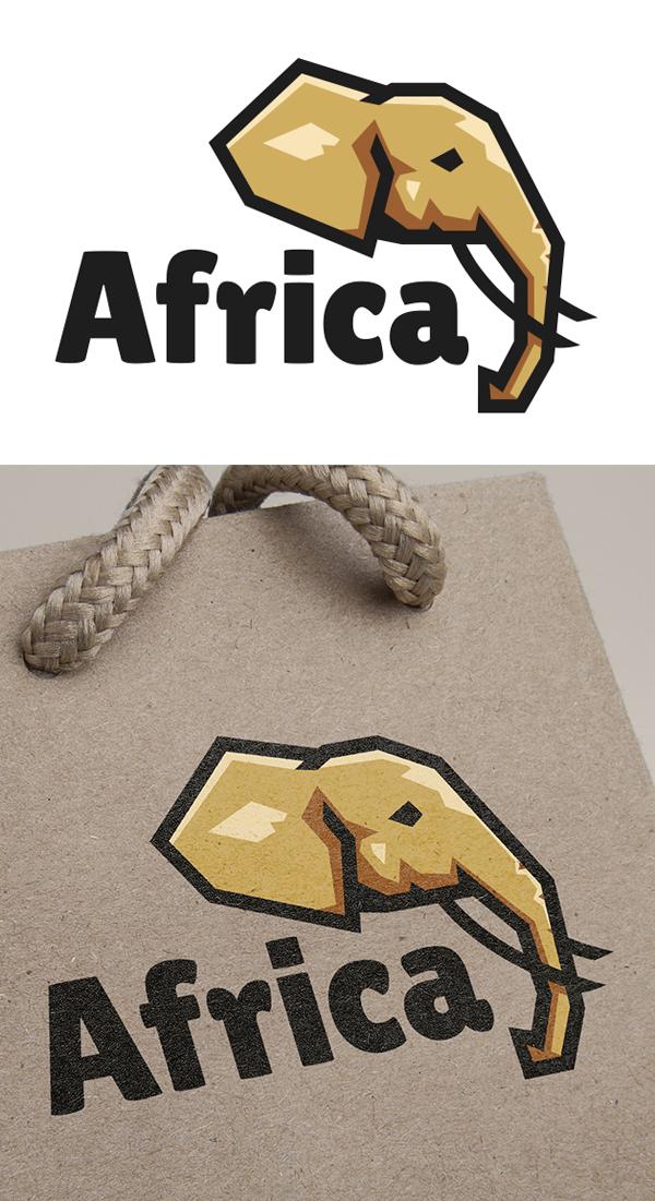 Free Elephant Logo + Video Process