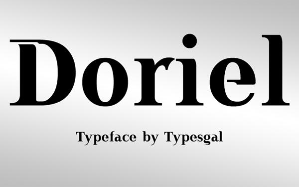 Doriel Free Font