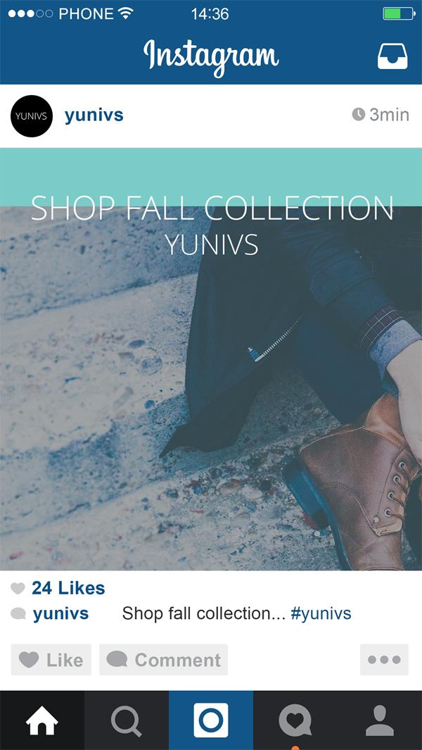 Free Minimal Instagram Fashion Templates