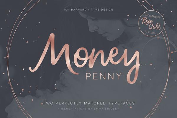 Money Penny - Script & Sans