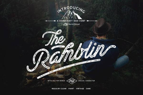 Ramblin Font