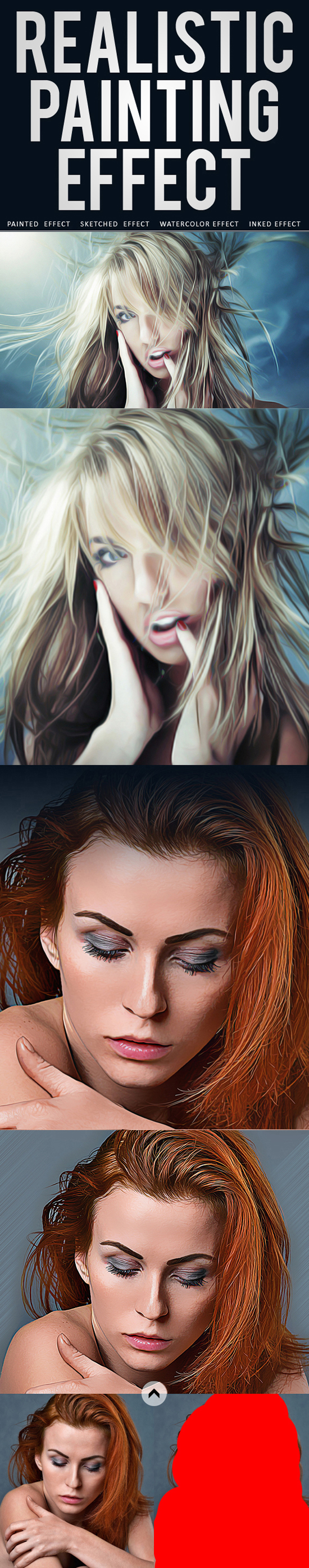 Realistic Painting Effects Photoshop Action