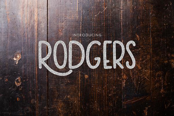 Rodgers Vintage Font