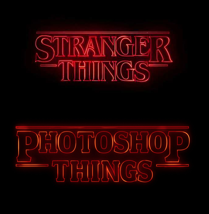 How to Create Stranger Things Effect in Photoshop Tutorial