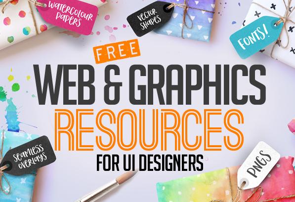 36 Free Web & Graphic Design Resources for UI Designers