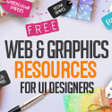 Post thumbnail of 36 Free Web & Graphic Design Resources for UI Designers