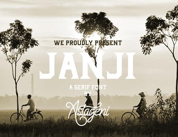Janji Free Font