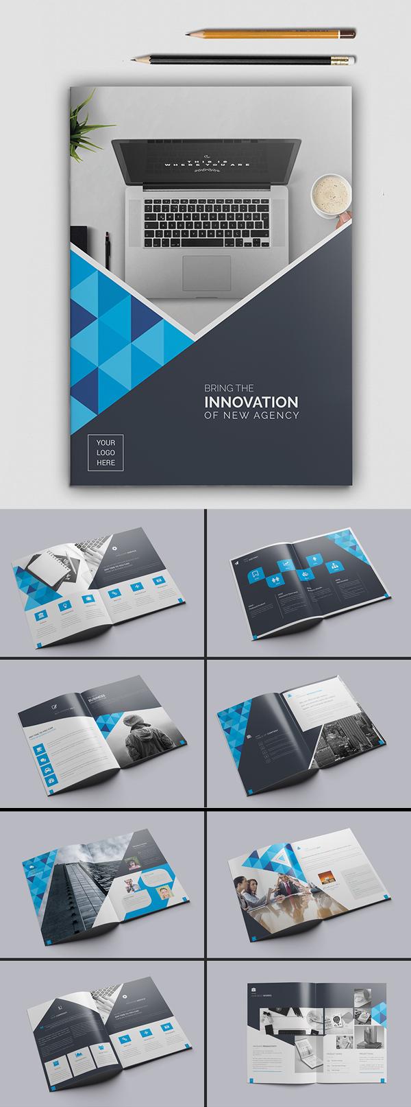 100 Professional Corporate Brochure Templates - 2