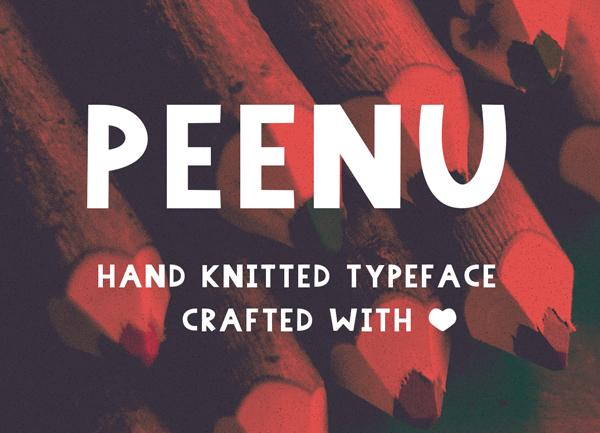 Peenu Free Font