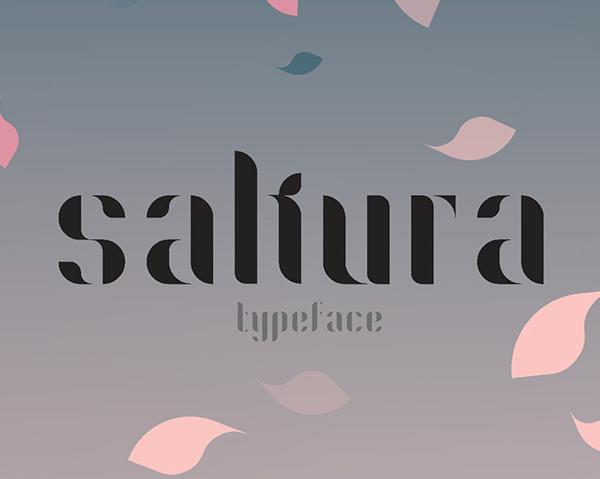 Sakura Free Font