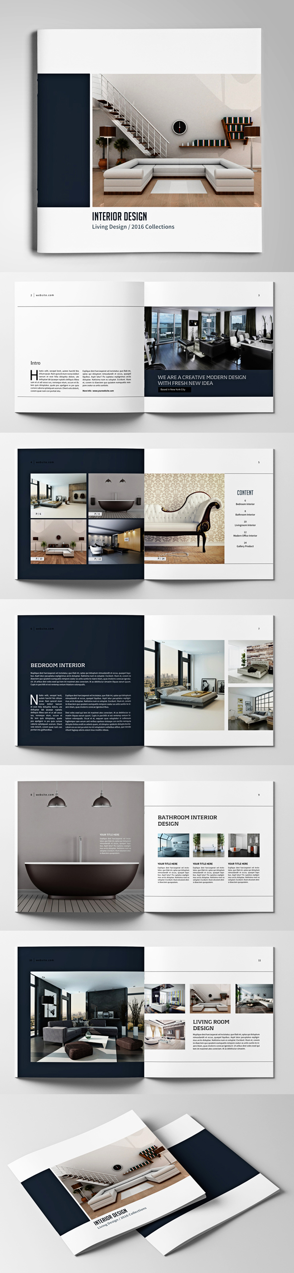 100 Professional Corporate Brochure Templates - 10