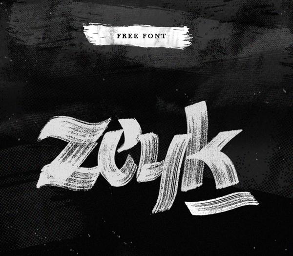 Zeyk Free Font