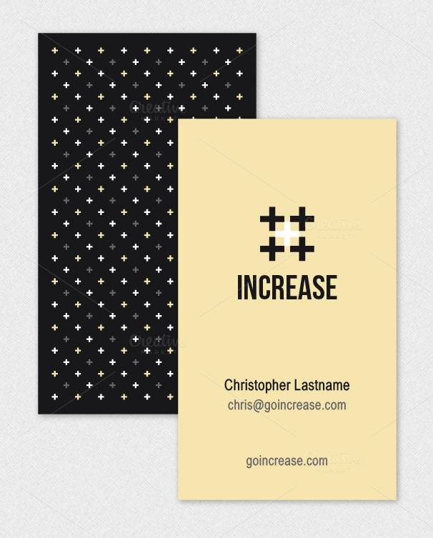 Plus Logo Business Card Template