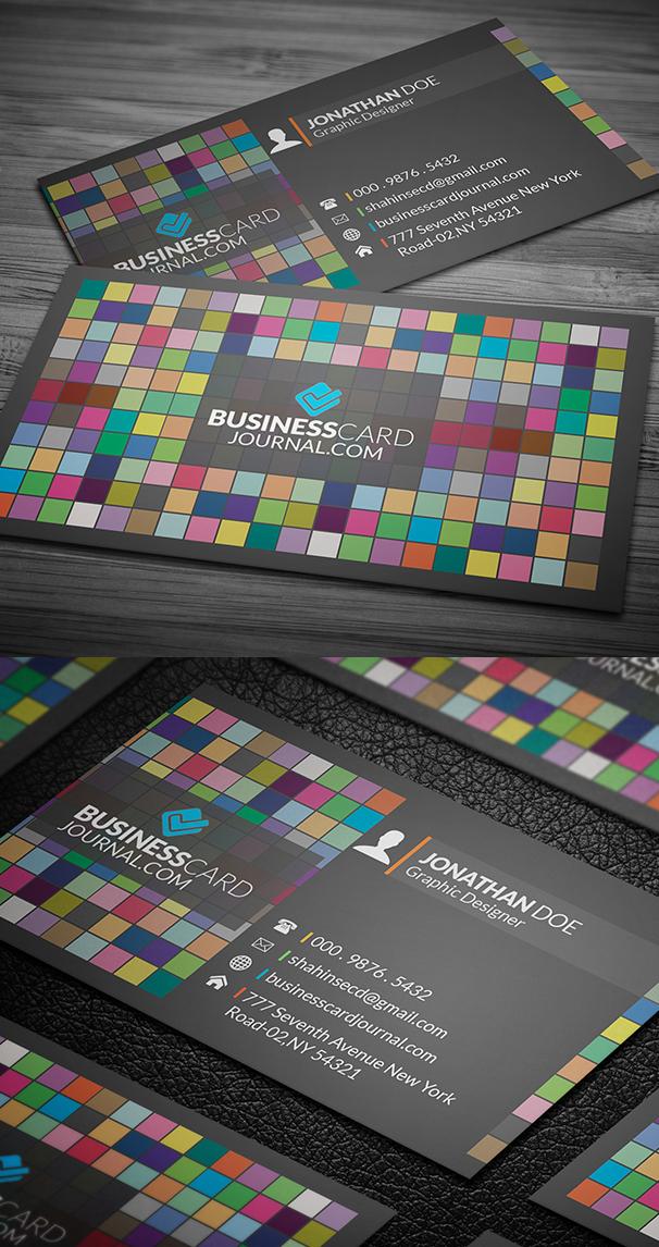 Box Business Card PSD Template