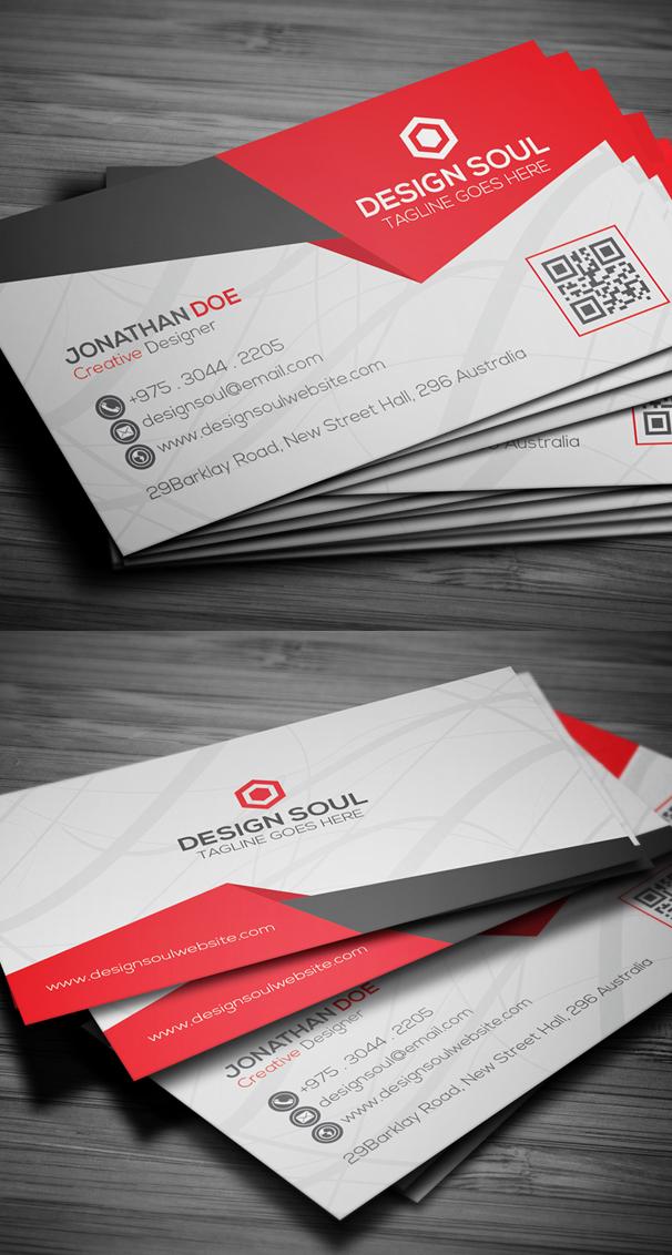 Creative Business Card PSD Design