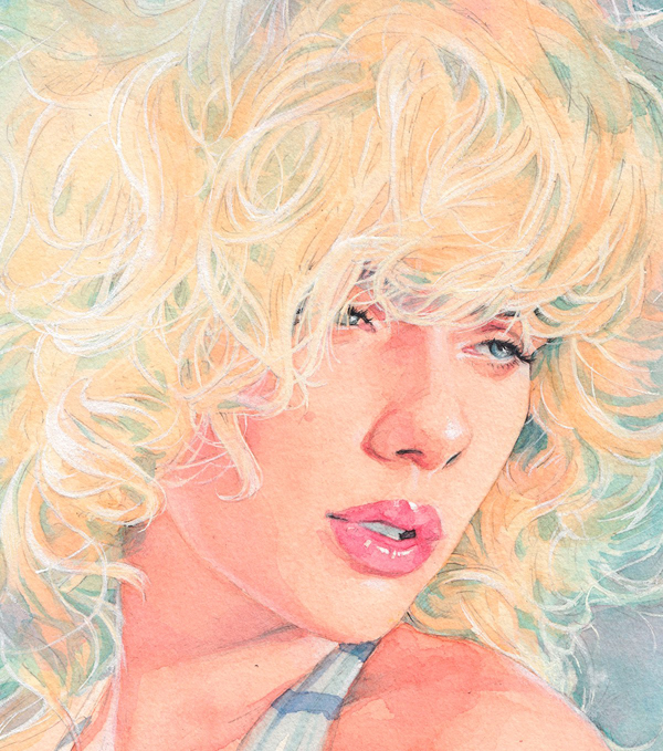 Amazing Watercolor Portrait Illustrations By Hector Trunnec - 19