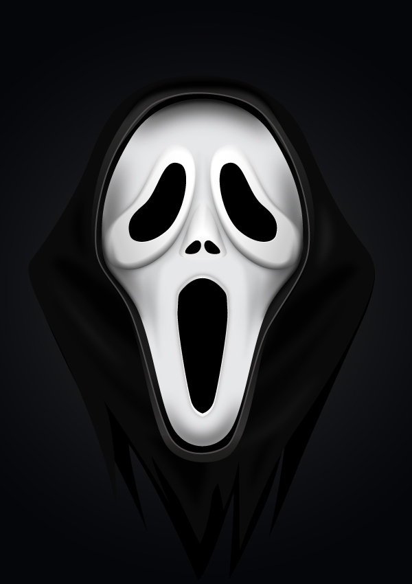How to Create a Scream Mask in Adobe Illustrator