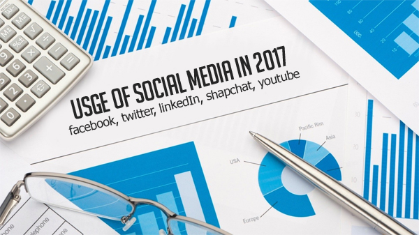 Usage of Social Media in 2017