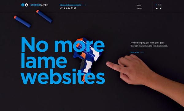 32 New Trend Website Design Examples - 16