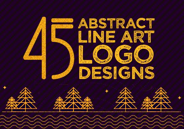 45 Best Line Art Logo Designs for Inspiration