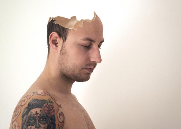 How to Create Surreal Portrait Broken head Effect in Photoshop