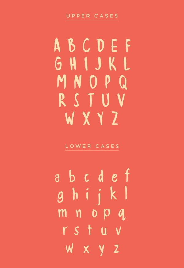 Handwritten Font & Letters