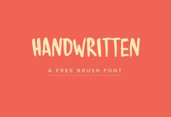 Handwritten Free Font