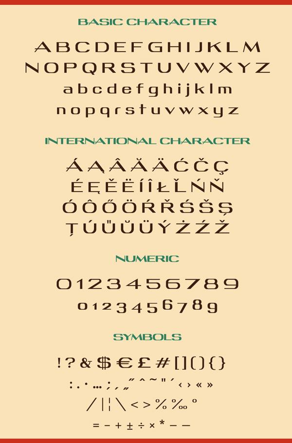 Pan Font & Letters