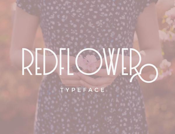 RedFlower Free Font
