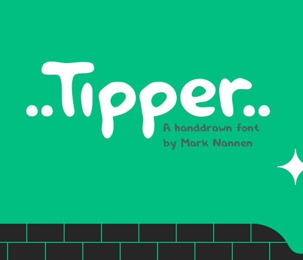 Tipper Free Brush Font