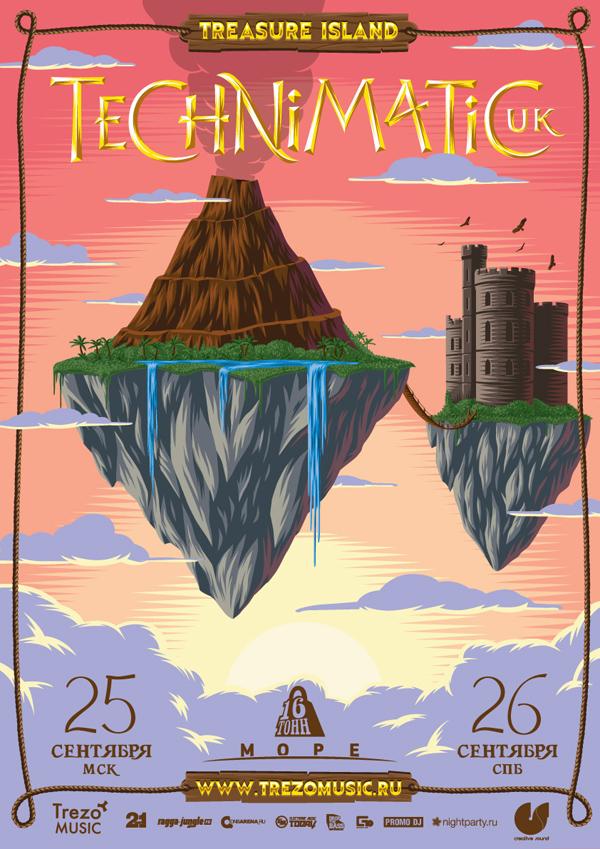 Treasure Island Series Posters
