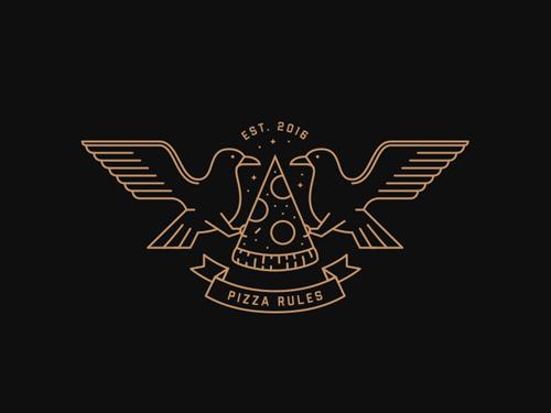 45 Best Line Art Logo Designs for Inspiration - 16