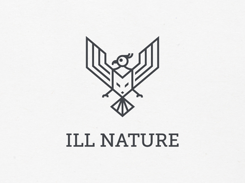 45 Best Line Art Logo Designs for Inspiration - 20
