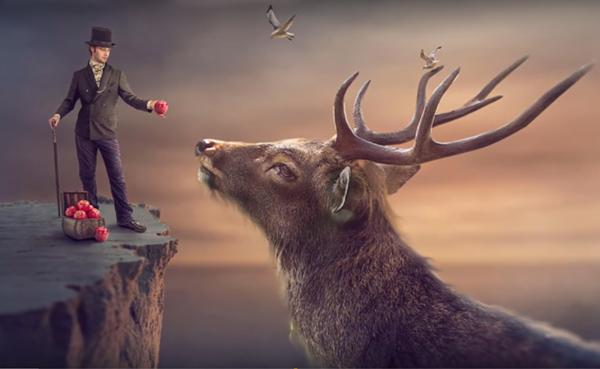Amazing Surreal Photoshop Manipulation Tutorial