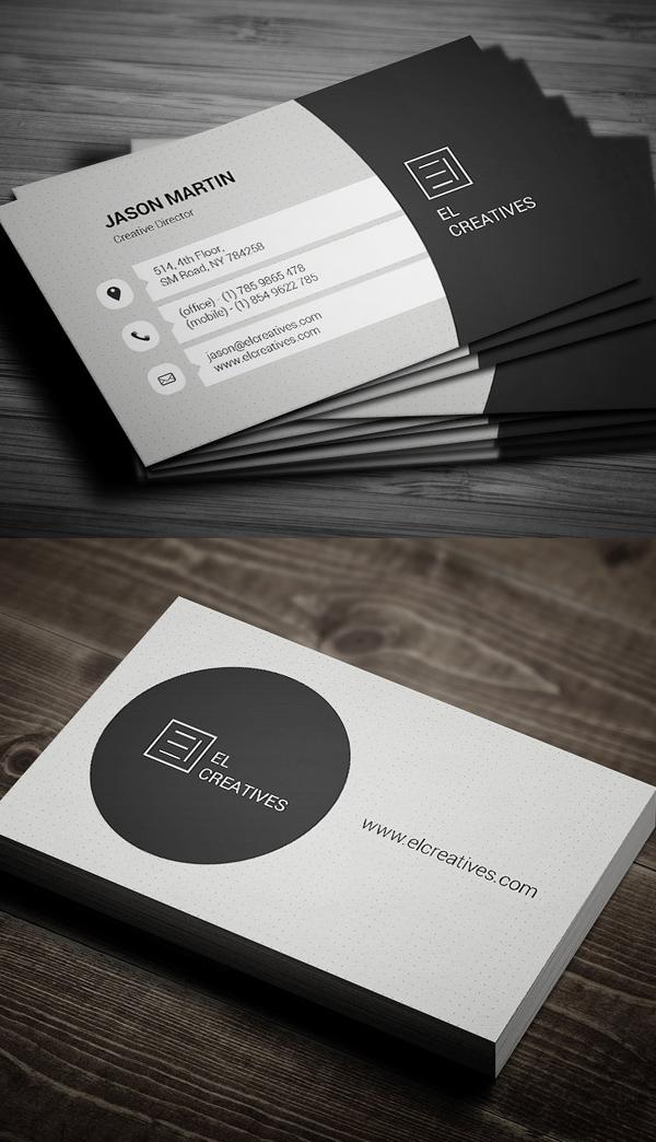 Clean Corporate Business Card Design