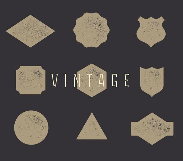 Free Vintage Badge Kit