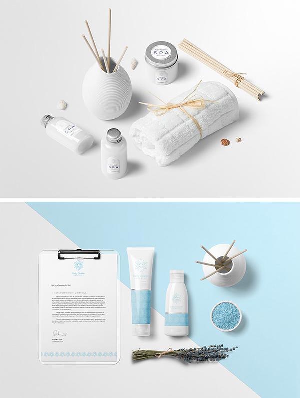 Free Cosmetics Mockup Creator PSD