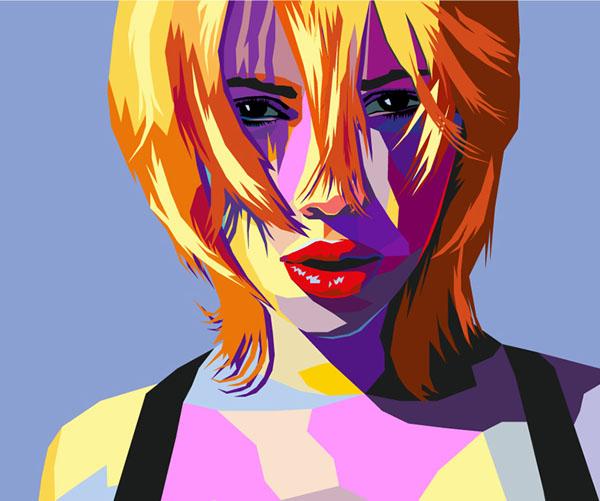 How to Create Pop Art (WPAP Style) portrait in Illustrator