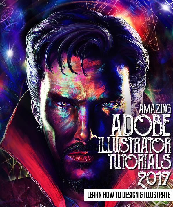 Illustrator Tutorials: 20 New Tutorials to Learn How to Design & Illustration