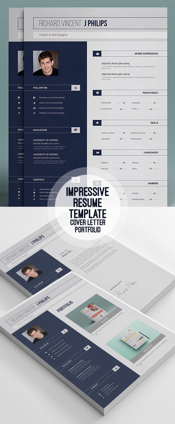 Portfolio Resume Template